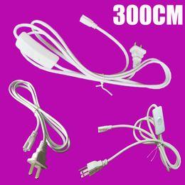 verlinkbare Schnüre Kabel 24 Zoll T5 T8 Schlauchverbinder Kabel Kabel für integrierte LED-Leuchtstofflampe AC85-265V One Piece