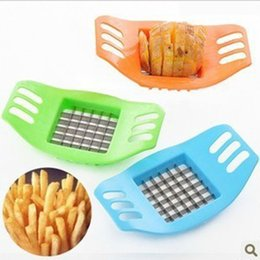 $enCountryForm.capitalKeyWord NZ - Creative French fries Maker Kitchen Supplies Multi-function Chopper Stainless Steel Manual Chopper Potato Slice Cucumber Cutter