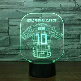 $enCountryForm.capitalKeyWord Australia - World Cup Jersey Messi 3D Illusion light Lamp 5th Battery Bin USB Powered 7 RGB Light DC 5V Wholesale Free Shipping