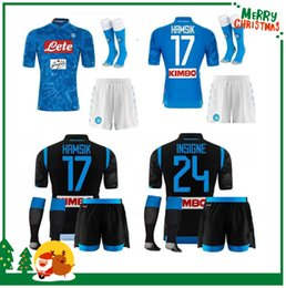 b7fac558641 2018 2019 Naples kids kit Napoli home soccer jerseys Napoli blue football  Jerseys Shirt for men 18 19 boy child HAMSIK L.INSIGNE Shirt