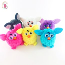 Electronic Voice NZ - New products pet owl plush toys battery drive models intelligent voice recording electronic interactive boom toys