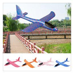 $enCountryForm.capitalKeyWord NZ - Throwing Glider Inertia Plane Foam Aircraft Toy 48cm Outdoor Sports Airplane Model Toy for Kids Children Boy Gift