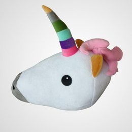 $enCountryForm.capitalKeyWord UK - Creative Stuffed Animal Plush Bolster Unicorn Emoji Dolls Toy Pillow Soft Comfortable Durable Cushion For Kids 16 5xj ff