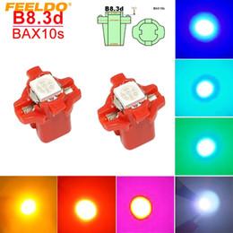 $enCountryForm.capitalKeyWord Canada - FEELDO 50PCS 7-color Car 12V B8.3d BAX10s 1SMD 5050 Gauge Dashboard LED Light Interior Lamp #4066