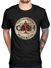 Großhandel Cartoon Männer Johnny Cash Spade Genre Rundhalsausschnitt Kurz - Ärmel besten Freund Shirts