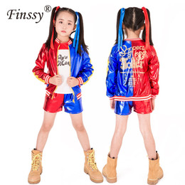 534c2539 Suicide Squad Harley Quinn Jacket T-shirt Tee Underwear Daddy's Lil Monster  Suicide Squad Cosplay Halloween Costume for kids Gir