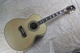 Discount electric beige - Free Shipping New Arrival Dot Spruce Beige Electric Acoustic Guitar WITH fishman pickup