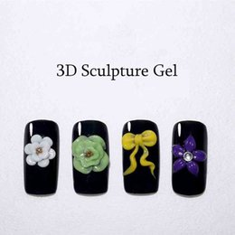 Glitter red Gel polishes online shopping - Color UV LED Gel Nail Polish Glitter Painting Sculpture Phototherapy Carved Glue Acrylic Nail Art Modelling Decoration