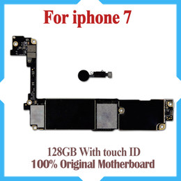 Unlock motherboard online shopping - Motherboard For iPhone inch GB With Touch ID IOS Update Support Original Factory Unlocked Mainboard Good Tested
