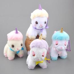 "$enCountryForm.capitalKeyWord Canada - Top New 4 Styles 4.5"" 12CM Horse Plush Doll Pendant Anime Dolls Stuffed Keychains Soft Toys"