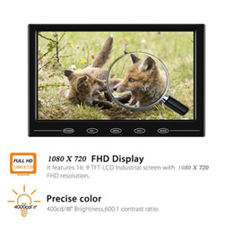 "$enCountryForm.capitalKeyWord NZ - 9"" HD TFT LCD Color 1080x720 HDMI Car Monitor Portable Mini Video Screen Support VGA BNC AV Input For PC CCTV Home Security"