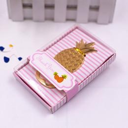 Pineapple Bottle Opener Favor Wholesale Wedding Bridal Shower Return Gifts Party Giveaways 50pcs Lot Free Shipping