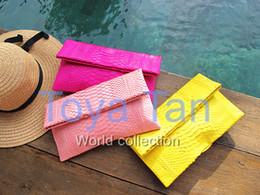 China Luxury ladies 100% real genuine python skin clutch python leather clutch evening bag handbag supplier luxury python handbags suppliers
