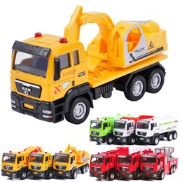 Fighting Canada - Alloy Car Model Toy, Engineering Car, Fire Fighting Truck, Sanitation Truck,Oil Tank Truck,Kid' Birthday' Gifts, Collecting, Home Decoration