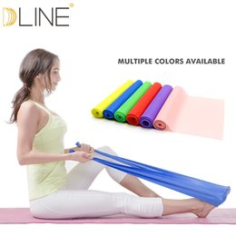 Band Belts Australia - 1.5m Pilates Elastic Band For Fitness Resistance Bands Rubber Bands Yoga Stretching Belt Pull up Gym Body Exercise Band