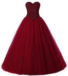 $enCountryForm.capitalKeyWord UK - New Sexy Off the Shoulder Ball Gown Quinceanera Dresses 2019 With Tulle Beads Sweet 16 Prom Pageant Debutante Dress Party Gown QC1247