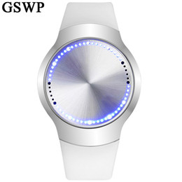 New Watch Touch Screen Australia - Fashion GSWP Brand Sports Watch Military Digital LED Watches for Men and Women Casual Creative Touch Screen Wristwatches New Y18102310