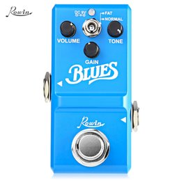 Box Effects Pedal Australia - ROWIN Blues Style Overdrive Box Guitar Effect Pedal True Bypass Design Aluminum Alloy Housing With wide range frequency response