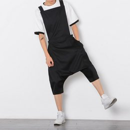 36b0eb80ae3c Men roMpers online shopping - Bib Overalls Men Summer Jumpsuit Mens Rompers  Stylist Jumpsuit Hip Hop