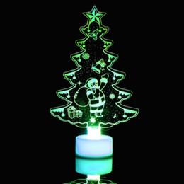 $enCountryForm.capitalKeyWord Australia - Creative Colorful Christmas Tree LED Night Light Color Changing LED Light Lamp Decorative Wall Lamp Home Decor NEW