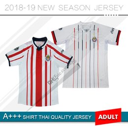 72c2bd56 2018 2019 MX Chivas de Guadalajara Home LOPEZ Soccer Jerseys 18 19 E.LOPEZ  I.BRIZUELA Club Deportivo Camiseta PIZARRO Away Football Shirt