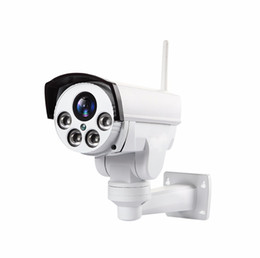 Wholesale 4G PTZ IP Camera Outdoor Wifi SIM Card Camera P2P Support Micro Storage Wi Fi X Zoom Lens CCTV Cameras