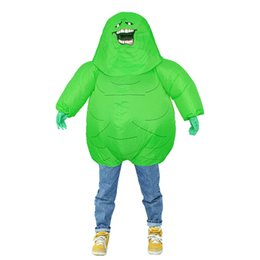 $enCountryForm.capitalKeyWord UK - Green Monster Inflatable Costume For Adult Christmas Halloween Birthday Make-up Party FancyToys Alien ET Cosplay Suits Outfit