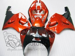 1998 Ninja Zx7r Fairings Australia - ABS fairing kits For KAWASAKI NINJA ZX7R 1996 1997 1998 1999 2000 2001 2002 2003 ZX7R 636 96 97 98 99 00 01 02 03 orange black fairings