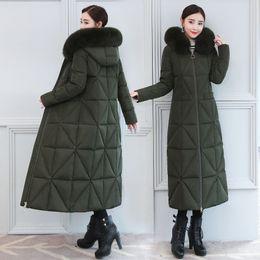 Womens Snow Coats Australia - Womens Down Coats Winter Jackets Fox Fur  Collar Female Windbreakers Long 78ffa107c