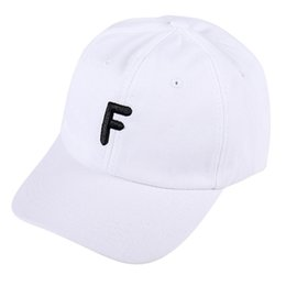 693d1266 Unisex Vintage Letter F Twill Cotton Baseball Cap Vintage Adjustable Dad Hat  Baseball Casquette Homme
