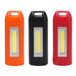 Discount mini usb solar - 3 Mode USB Rechargeable Mini Work Light COB LED Lamp Keychain Light Emergency Bulb for Reading Camping WWO66