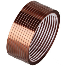 China Polyimide high temperature heat-resistant pressure-sensitive adhesive tapes 20mm supplier resistant tape heat suppliers