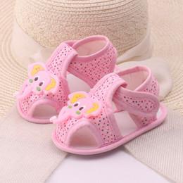 ae8dd0adb BaBy sandals sale online shopping - Hot sale cute baby girl baby summer  cartoon elephant pattern