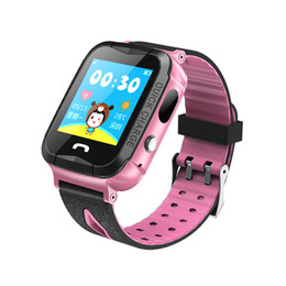Apple bAby monitor cAmerA online shopping - IP67 Waterproof V6G Smart Watch GPS Tracker Monitor SOS Call with Camera Lighting Baby Swimming Smartwatch for Kids Child