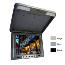 "$enCountryForm.capitalKeyWord UK - Car Video 12.1"" Flip Down TFT LCD Monitor Car Bus Monitor Roof Mounted Monitor 2-Way Video Input 3-Color#1944"