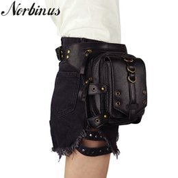 Fine Jewelry Reliable Norbinus Men Waist Bags Motorcycle Drop Leg Thigh Holster Bag Women Steampunk Crossbody Bag Skull Hip Belt Bag Travel Pack Pouch Attractive Designs;
