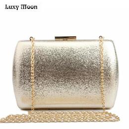 15b21debae68 LUXY MOON Bling вечер клатч золото серебро день клатч кошелек мода женщины  свадебная сумка партия знакомства сумочка ночной клуб сумка Y18103004