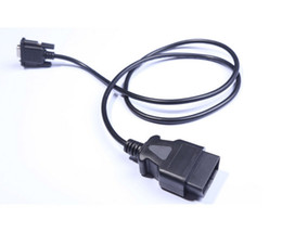 $enCountryForm.capitalKeyWord NZ - OBD2 CABLE 16PIN TO DB 9PIN Serial RS232 OBD II DB9 To 16P Free Shipping By Epackage