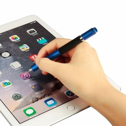 $enCountryForm.capitalKeyWord UK - 6 colors toch pen 2in1 Stylus Pen Capacitive Touch Screen Stylus Ballpoint For iPhone For Tablet PC