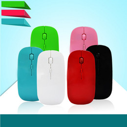Cheap mini laptops online shopping - Laptop wireless Ultra thin optical mouse Cheap G mouse Boutique Mini slim colors can be selected