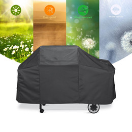 $enCountryForm.capitalKeyWord Australia - Waterproof BBQ Cover Barbeque Stove Grills Storage Bag Protective Cover Outdoor Camping Tools Storage Bag Black BBQ Accessories