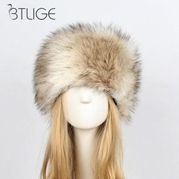21969d60065c9 New Arrivals Fashion Women Lady Fluffy Faux Rabbit Fur Cossack Style Russian  Winter Hats Warm Cap Female Hats For Autumn Winter
