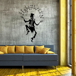 Wall Paper Decal Sticker Australia - Halloween Wall Sticker Bedroom Living Room PVC Removable Decorative Paper Sticker for Xmas Home Living Room Bedroom Decals