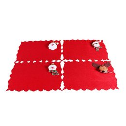 $enCountryForm.capitalKeyWord UK - 4PCS Christmas Tablecloth Decorative Dinner Cute Creative Table Cloth for Christmas Dinner Room Home Hotel Christmas Tablecloth
