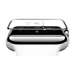 $enCountryForm.capitalKeyWord NZ - For Apple Watch Strap 1 2 3 Generat Ultrathin 9H 3D Surface Tempered Glass Membrane Smart Watch