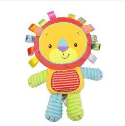 $enCountryForm.capitalKeyWord UK - 8 Styles Baby Toys Rattles Pacify Doll Plush Baby Rattles Toys Animal Hand Bells Newbron Animal elephant monkey lion rabbit
