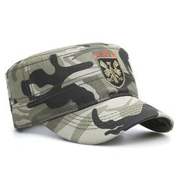 4a136cb876f Flat Military Caps NZ - Influx of wild young men and women quality cotton  army cap