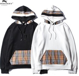 Wholesale hooded plaid shirt women for sale – plus size 2018 autumn new hooded sweater men and women trend plaid fashion wild shirt