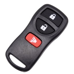 $enCountryForm.capitalKeyWord NZ - High Quality New Sentra 3 Button Replacement Keyless Entry Case for Nissan Remote Key Blank Shell Fob Cover