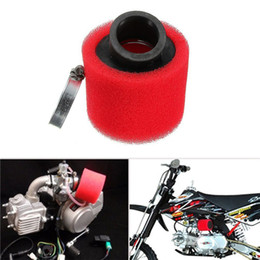 Wholesale High Quality RED mm Bent Angled Foam Air Filter Air Intakes for Motorcycle ATV New